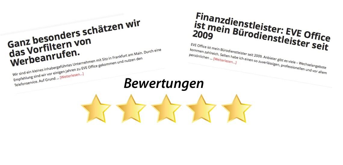 EVE Office - Telefonservice, Telefonsekretariat, Büroservice