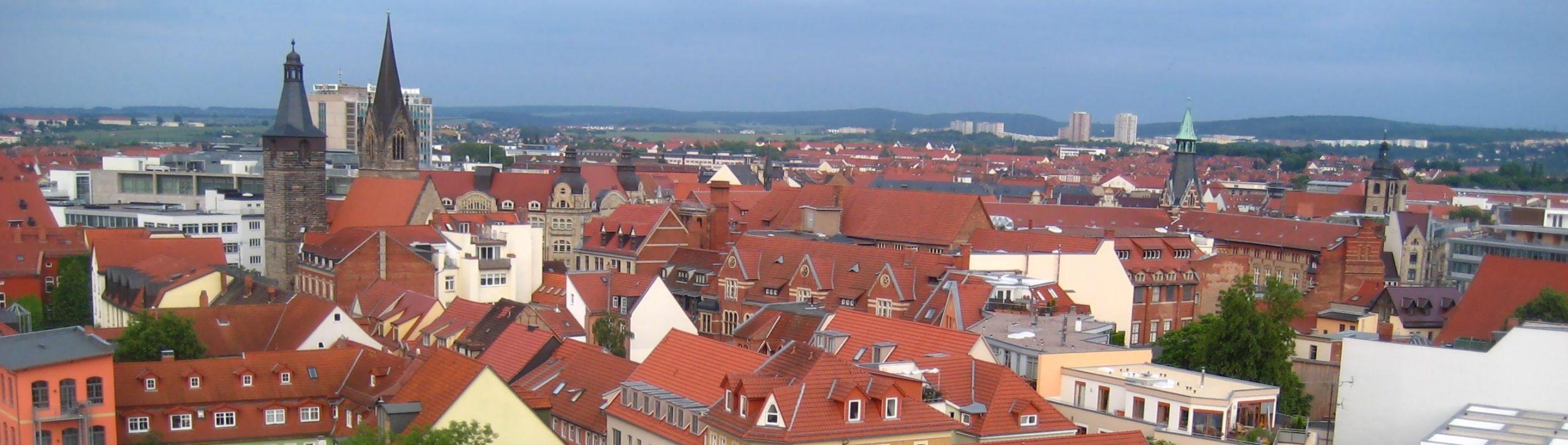 Erfurt Altstadt Daecher scaled -